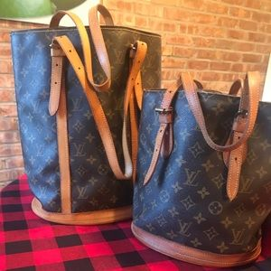 Louis Vuitton Bucket PM and GM Project Bags
